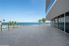Motorized Shades, North Tower, Fort Lauderdale Beach, Ocean Views, Condos For Sale, Terrace, Exterior, Photo And Video, Outdoor Decor