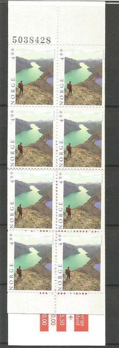 N O R W A Y - HEFTE MICHEL nr 1208 ,xx, (121) oppføring i Norge,Europa,Frimerker kategorien på eBid Norge