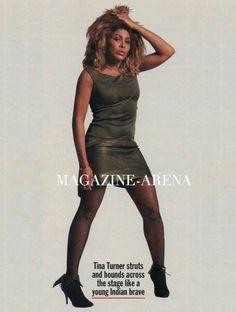 Tina Turner in Azzedine Alaia 1986