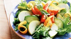 Päärynäinen salaatti