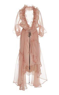 Tamarindo Silk Organza Dress by JOHANNA ORTIZ for Preorder on Moda Operandi