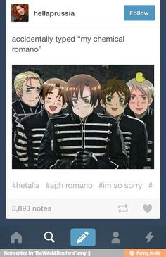 They wiggle their way into everything don't they? GUYS! THEIR ATTACKING THE HETALIA FANDOM|  ohhh, double fandoms (and how is romano gerard).