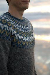 Jumper Knitting Pattern, Knitting Wool, Fair Isle Knitting, Hand Knitting, Icelandic Sweaters, Wool Sweaters, Sweater Design, Knitwear, Knitting Patterns