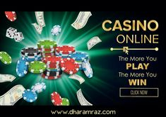Dharamraz is offering players special rewards and bonuses EVERY DAY of the week. Each day will have a featured daily bonus on all your favorite casino games. The more you play, the more you win. Get the bonus now  #onlinecasinobonus #onlinecasino #poker #roulette #blackjack #slots #bingo #spins #Dharamraz