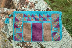 Ravelry: Canyon Clutch pattern by J Erin Boland