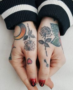 I can't wait to have tattoos especially my hand tattoos