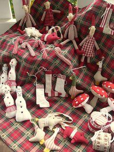 fabric ornament extravaganza
