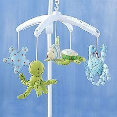 nursery inspiration: ocean mobile