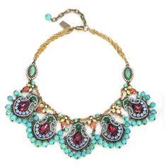 Badgley Mischka Turquoise Goa Necklace