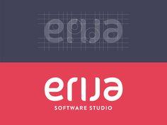 Erija - Software Studio (Ambigram)