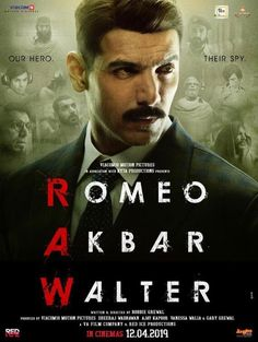 Romeo Akbar Walter begins with a badly injured John Abraham. Wilen grows up to John and pulls up his nails. After which you hear a scream, which will scare you till Indar. Popular Movies, Latest Movies, Good Movies, Best Movie Sites, John Abraham, Hd Movies Download, English Movies, Robert Sheehan, New Poster