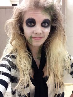 Diy beetlejuice costume for women google search costume ideas beetlejuice women costume make up beetlejuice makeupbeetlejuice costumediy solutioingenieria Image collections