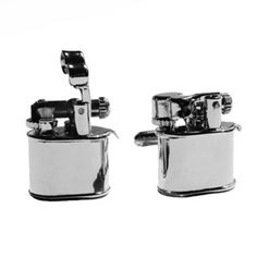 YOU gNeek Real Lighter Cufflinks now featured on Fab.