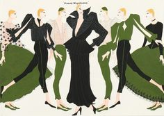 A John Galliano original fashion sketch, 'Princely : Lot 0258