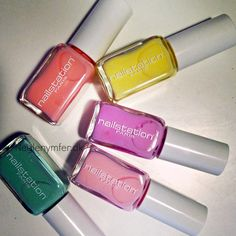 Nailstation Paris pastels