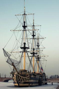 """Blagodat"" frigate Petersburg ship"