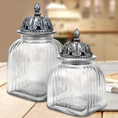 Found it at Wayfair - Canister with Decorative Lid
