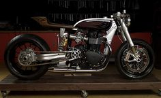 Triumph Custom by White Collar Bike, photograph by FerryKana