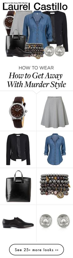 """How to Get Away With Murder"" by wearwhatyouwatch on Polyvore"