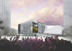 Rem Koolhaas und die Beatles - OMA gewinnt Wettbewerb für Kunstfabrik in Manchester