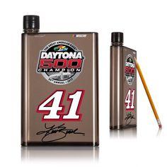 Daytona 500 Champion Kurt Busch 14oz A5 Smoke Flat Water Bottle