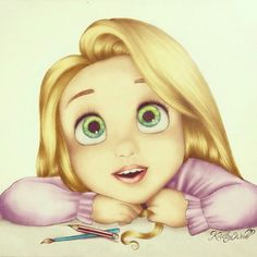 Love this drawing Tangled :)