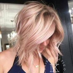 Rose Gold Hair is The Hottest Trend This Season Ombre Hair