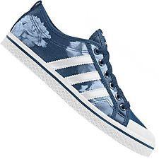sale retailer 2deed 230c4 ADIDAS ORIGINALS MIEL TIRAS DEPORTIVAS DE LONA AZUL BLANCO ROSA ZAPATOS  D65970 Zapatillas Adidas, Miel