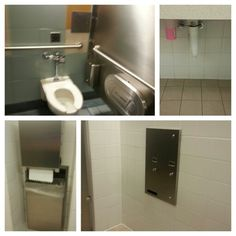 Yes Its A Bobrick Bathroom All In One Stall Configuration With - Bobrick bathroom accessories