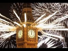 Fireworks light up Big Ben and London just after midnight on New Year's // Dan Kitwood/Getty Images London Fireworks, Fireworks Images, New Years Eve Fireworks, London Eye, Budapest, Big Ben, John Terry, Olympics Opening Ceremony, The Weather Channel