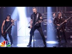 """Metallica Performed an Intense """"Moth into Flame"""" on THE TONIGHT SHOW 