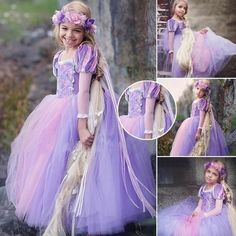 Buy Princess Cinderella Sofia Rapunzel Dresses Full Ball Gown Long Party Dress Kids Cosplay Christmas Halloween Costume Masquerade at Wish - Shopping Made Fun Princess Dress Kids, Disney Princess Dresses, Princess Sofia, Fancy Costumes, Halloween Costumes, Rapunzel Dress, Cosplay, Ball Gowns, Prom Gowns