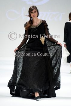 I'm in love with this! - Monica Haute Couture Collection at Muscat Fashion week www.monicacouture.com