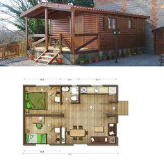 Planos casas de madera prefabricadas plano casa de madera - Casas prefabricadas espana ...