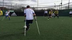 Pompey Amputees score an amazing goal in the Adult disability category of the FA People's Cup semi-finals.