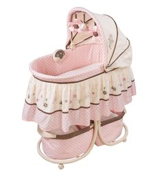 Summer Infant Carter's Love Bug Soothe 'n Sleep Bassinet (Discontinued by Manufacturer) Baby Basinets, Baby Mine, Cute Baby Girl, Baby Sleep, Baby Dolls, Baby Doll Accessories, Dream Baby, Everything Baby, Baby Store