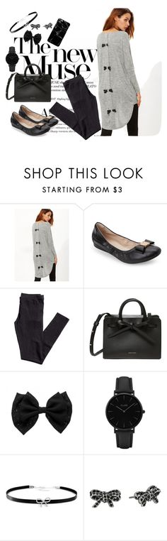 """""""Bows!"""" by brooklynslayer ❤ liked on Polyvore featuring Cole Haan, H&M, CLUSE, Giani Bernini and Marc Jacobs"""