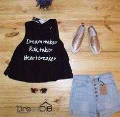 Un #Outfit fresco para este fin de semana 🙆🏻🍃 todo disponible en nuestra tienda del #ccpiedemonte 📍Somos #DressDie #fashionlifestyle #fashiondress
