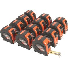 Get enough tapes for your entire crew with this 12-pk. of Wel-Bilt™ 1in. x 25ft. tape measures!
