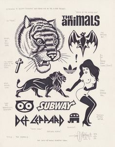 The Animals by Mike Giant, 2013.