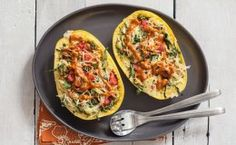 Roasted Spaghetti Squash with Almond Curry