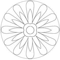 mandala simples - Pesquisa Google