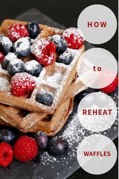 CookingChew shares this comprehensive guide featuring some of the cleverest tricks and tips on warming up your favorite breakfast staple. Read on to learn more! Yummy Waffles, Frozen Waffles, Homemade Waffles, Recipe Please, Baking Sheet, Oven, Cooking, Breakfast