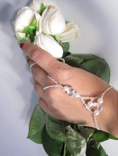 Bridesmaid Delicate Mallorca Pearl hand bracelet on etsy  by OurSerendipityStones $35.00