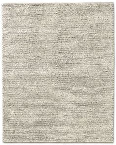 Restoration Hardware Braided Twist Jute Rug Silver