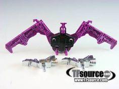 Transformers G1 - Ratbat w/ Silver Weapons - Cassette Tape -  by Hasbro #transformer