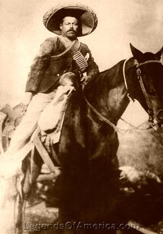 Francisco 'Pancho' Villa, general during the Mexican Revolution (1910-20)