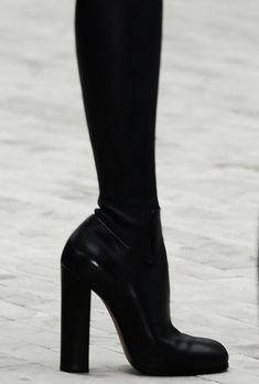 Céline boots - I love this heel - comfortable wear if you have to live in high heels - This is totally what I go for...