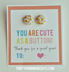 Cute as a button earring cards (holiday edition included)
