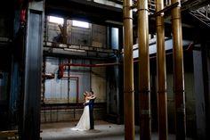 Bruidsfotografie in binnenlocatie